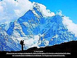 diaporama pps Le rêve d'une vie – Gravir L'Everest