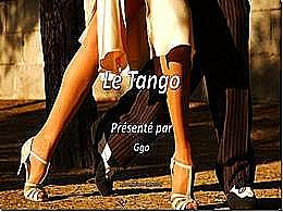 diaporama pps Le Tango