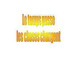 diaporama pps Le temps passe