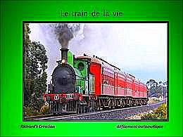diaporama pps Le train de la vie