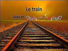 diaporama pps Le train