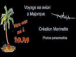 diaporama pps Le vol pour Majorque N°1