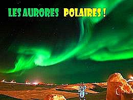 diaporama pps Les aurores polaires