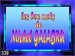 diaporama pps Les bons mots de Galabru