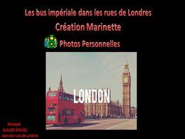 diaporama pps Bus impériale dans les rues de Londres