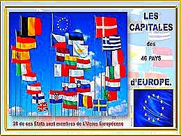 diaporama pps Les capitales des 48 pays d'Europe