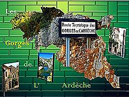 diaporama pps Les gorges de l'Ardèche