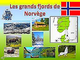 diaporama pps Les grands fjords de Norvège