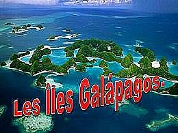 diaporama pps Les Îles Galápagos