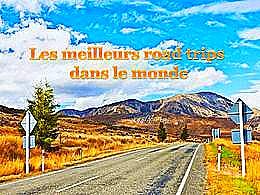 diaporama pps Les meilleurs road trips dans le monde