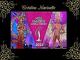 diaporama pps Les miss Univers 2015