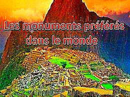 diaporama pps Les monuments préférés dans le monde