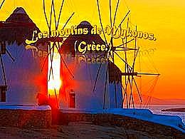 diaporama pps Les moulins de Mykonos