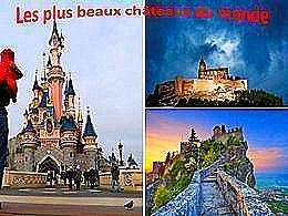 diaporama pps Les plus beaux châteaux du monde
