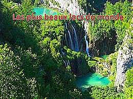 diaporama pps Les plus beaux lacs du monde