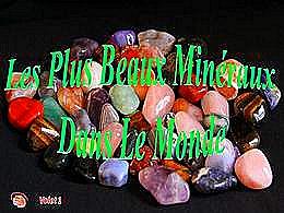 diaporama pps Les plus beaux minéraux dans le monde 1