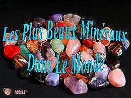 diaporama pps Les plus beaux minéraux dans le monde 2