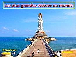 diaporama pps Les plus grandes statues au monde
