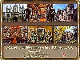 diaporama pps Les plus vieilles universités d'Europe 2
