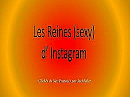 diaporama pps Les reines sexy d'instagram