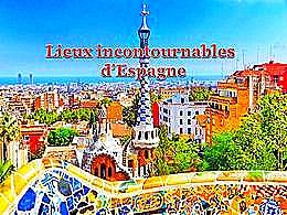 diaporama pps Lieux incontournables d'Espagne
