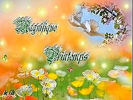 diaporama pps Magnifique printemps