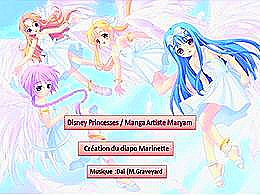diaporama pps Manga artiste Maryam