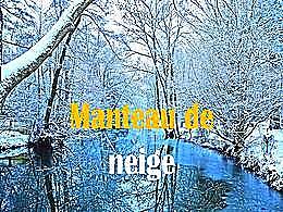 diaporama pps Manteau de neige