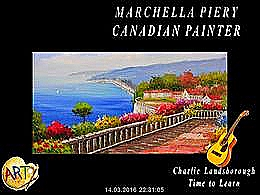 diaporama pps Marchella Piery – Canadian painter