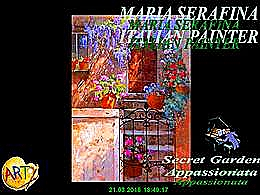 diaporama pps Maria Serafina 1955 italian painter