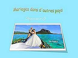 diaporama pps Mariages dans d'autres pays