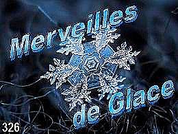 diaporama pps Merveilles de glace
