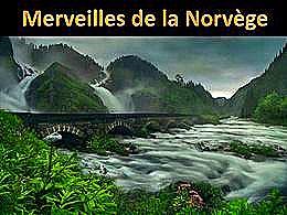 diaporama pps Merveilles de la Norvège