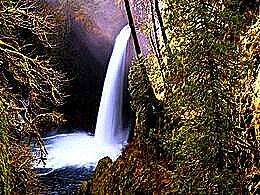 diaporama pps Metlako falls sahalie falls USA