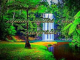 diaporama pps Millaa Millaa Falls Australia