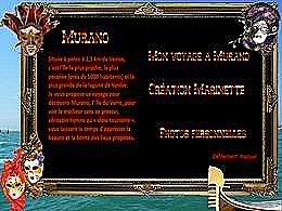 diaporama pps Mon voyage à Murano