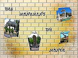 diaporama pps Monuments du monde