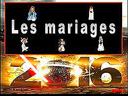 diaporama pps Les mariages