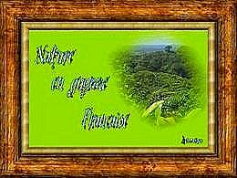 diaporama pps Nature en Guyane Française