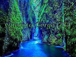 diaporama pps Oneonta Gorge USA