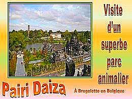diaporama pps Pairi Daiza – Parc zoologique à Brugelette