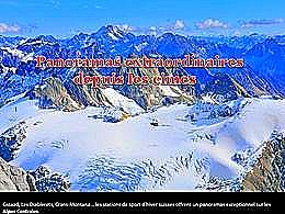 diaporama pps Panoramas extraordinaires depuis les cimes