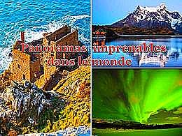 diaporama pps Panoramas imprenables dans le monde