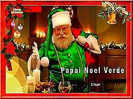 diaporama pps Papai Noel Verde