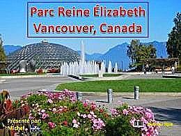 diaporama pps Parc Reine Elizabeth – Vancouver Canada