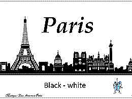 diaporama pps Paris – Black & White