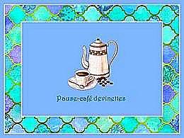 diaporama pps Pause café devinettes