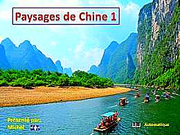 diaporama pps Paysages de Chine 1