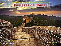 diaporama pps Paysages de Chine 3