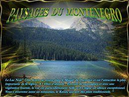 diaporama pps Paysages du Monténégro